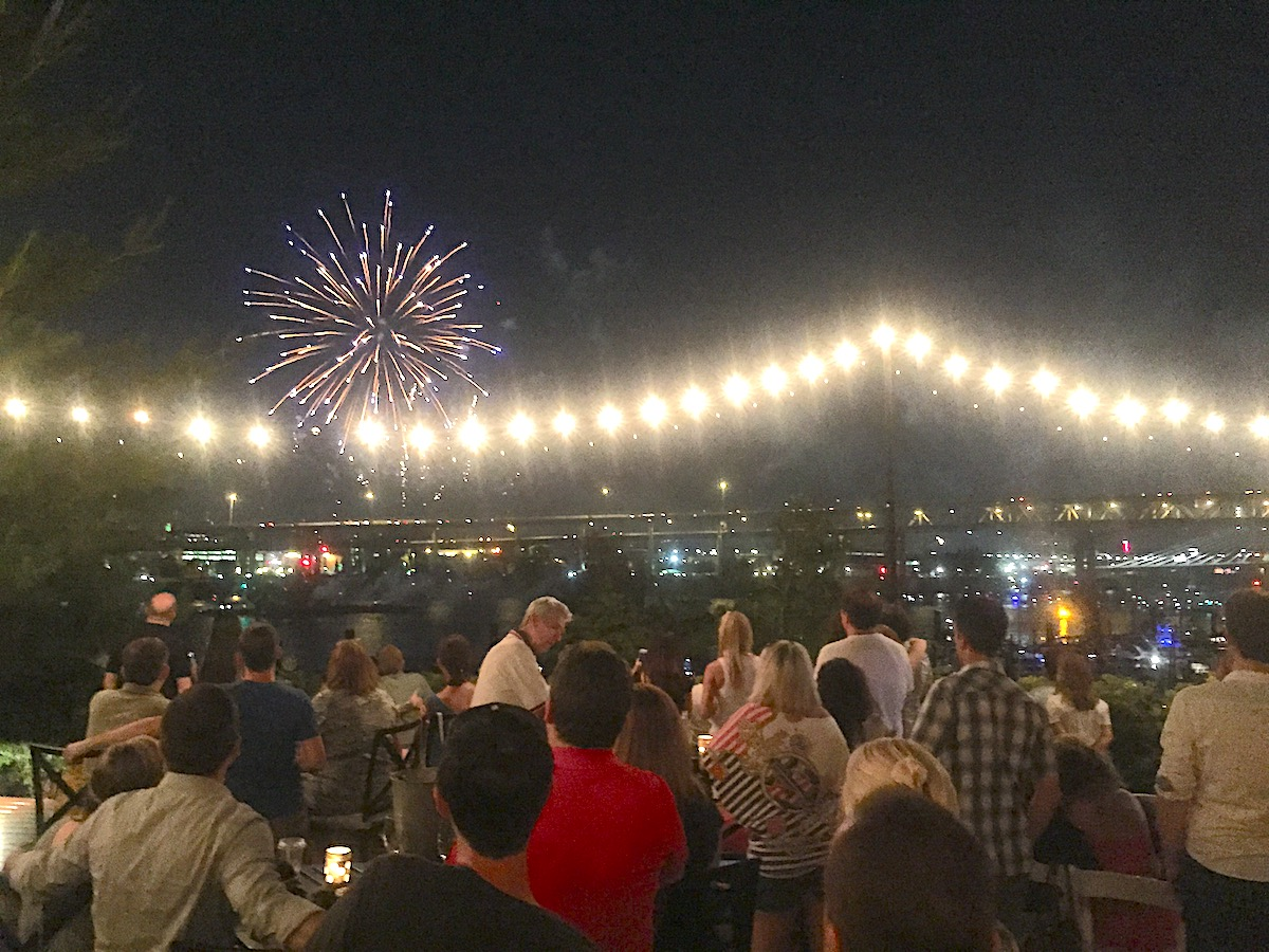 Restaurants for 4th of July Fireworks