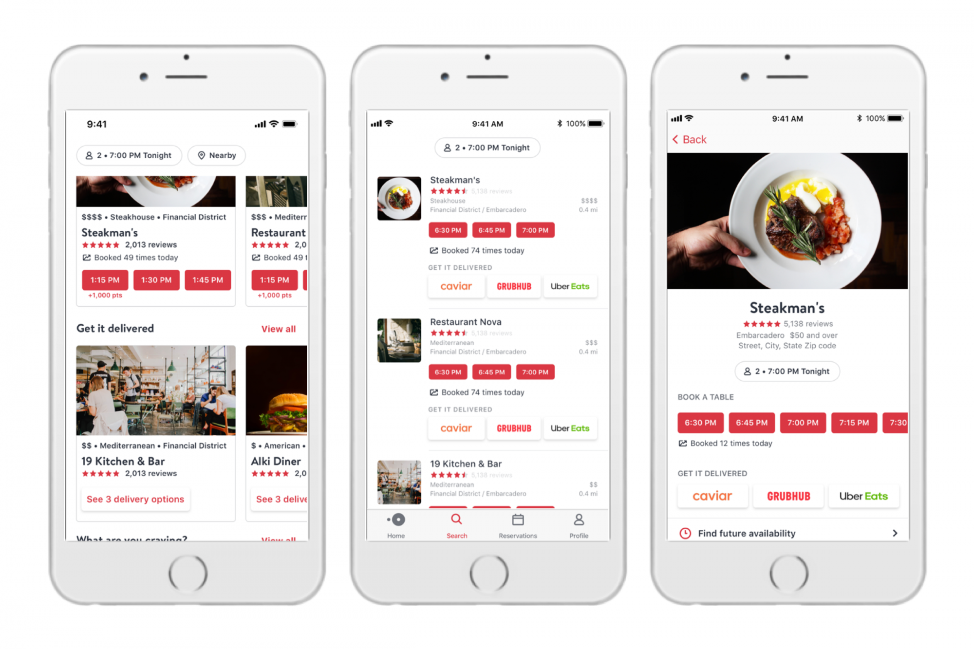 Home and Away: OpenTable Now Offers Delivery