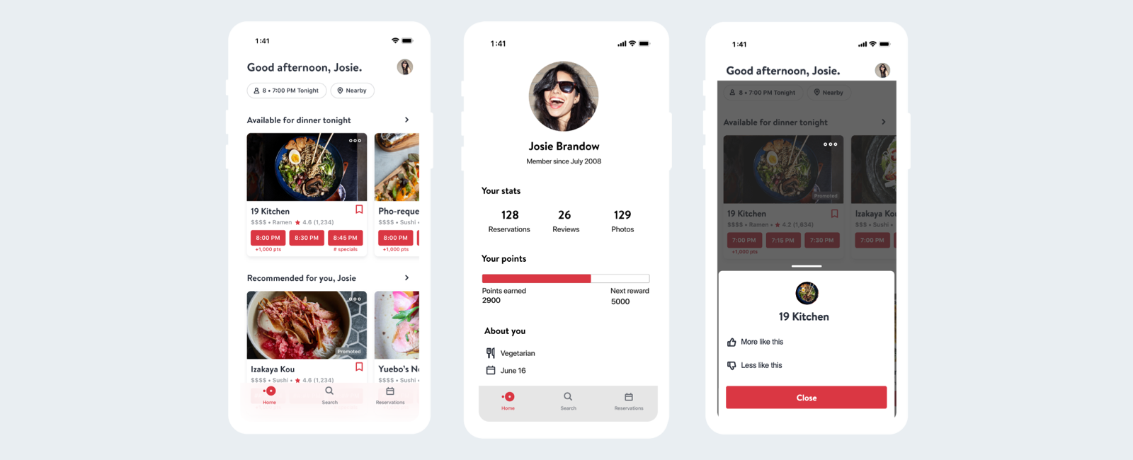 Introducing the New Personalized OpenTable App Experience