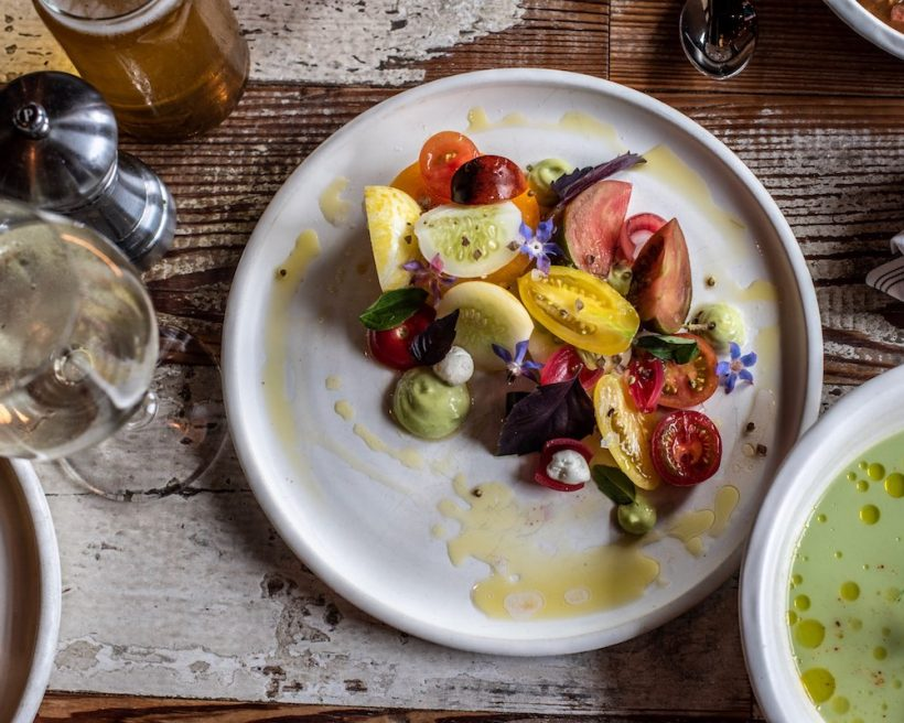 Heirloom Tomato Dishes