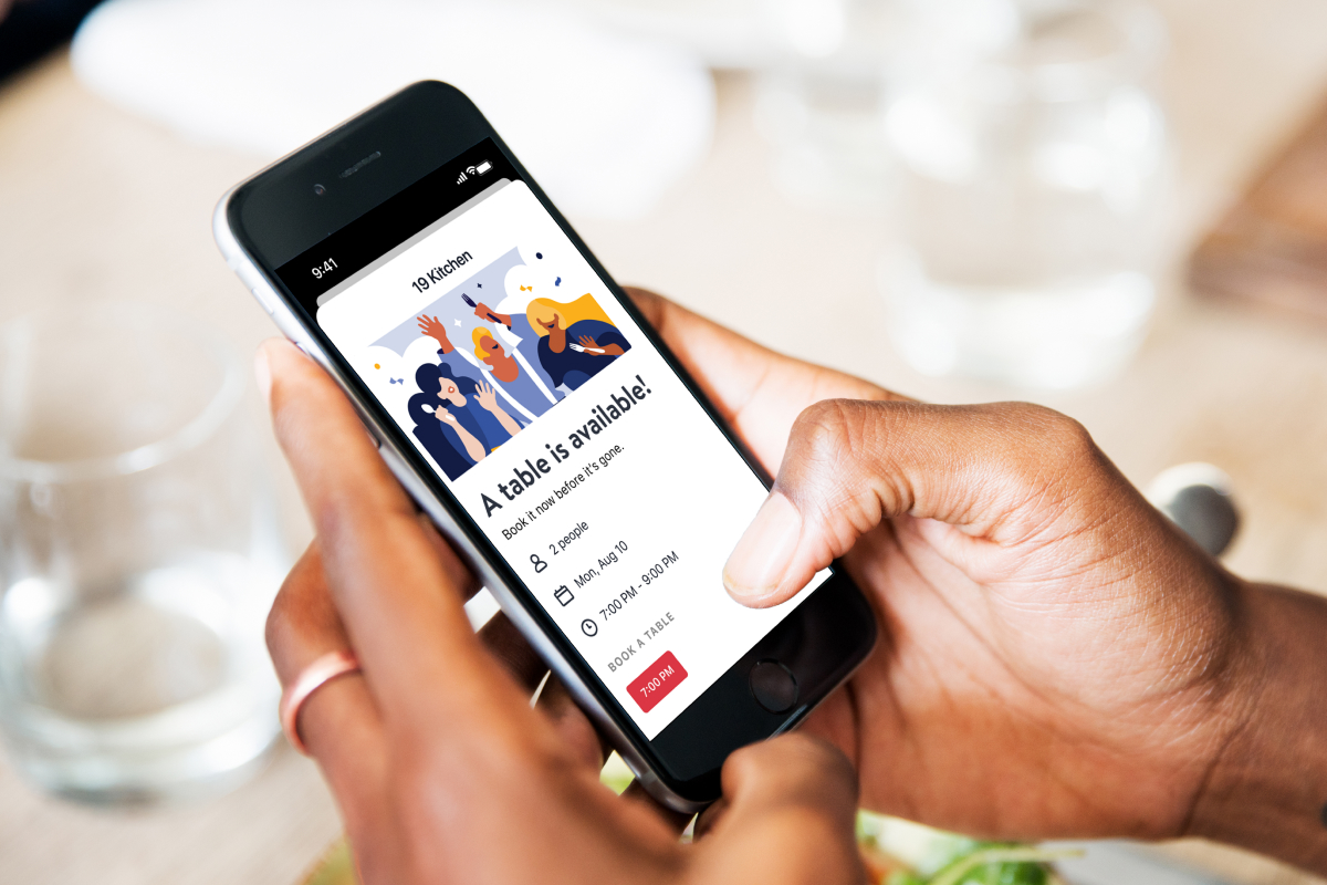 OpenTable Diners Can Now Set Availability Alerts for Already-Booked Tables