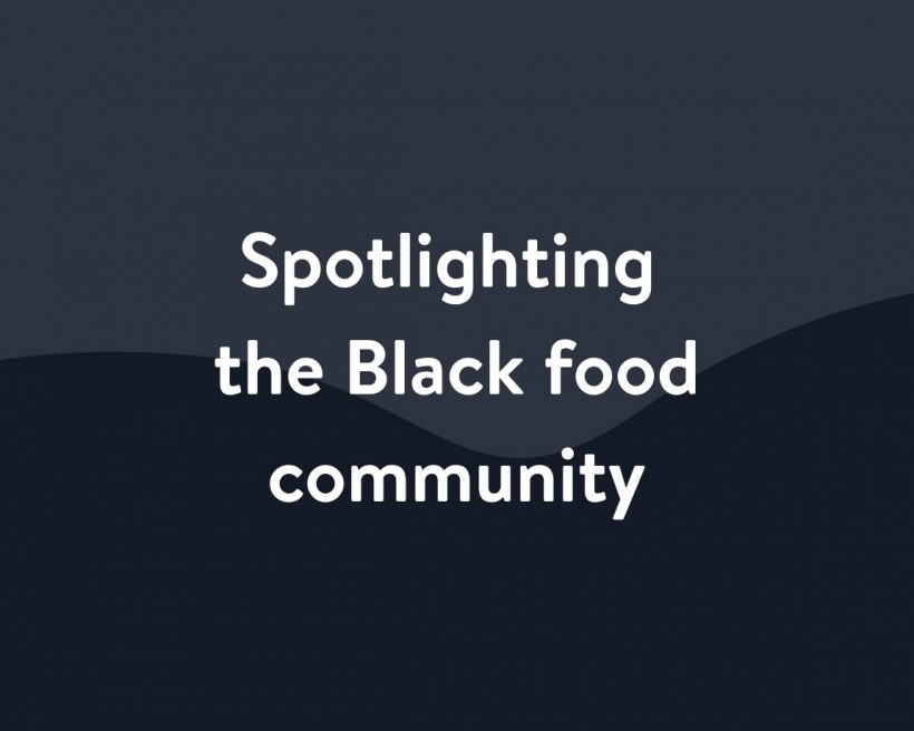 Spotlighting the Black food community