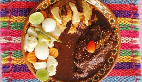 Mexican mole with chicken