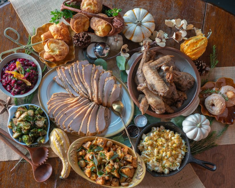 How Restaurants Are Bringing the Holidays Home