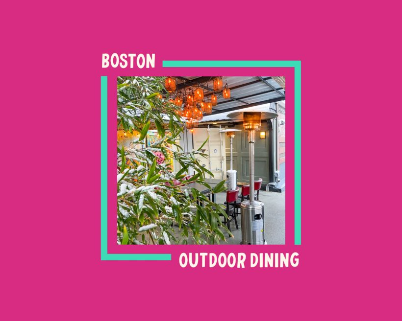 Boston's Best Restaurants for Outdoor Dining This Winter