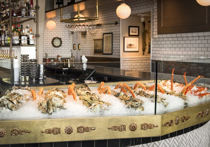 The Salt Line's lobster bar