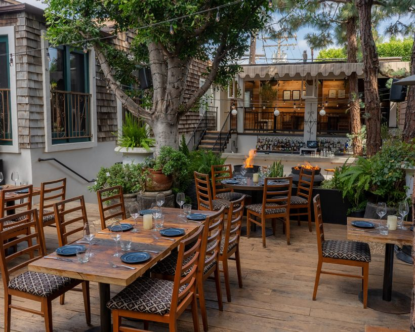 The Best Restaurants for Outdoor Dining in Los Angeles