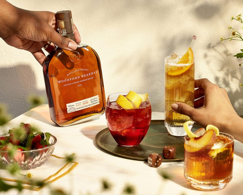The Best Woodford Reserve Summer Cocktails to Pair With Your Takeout Order