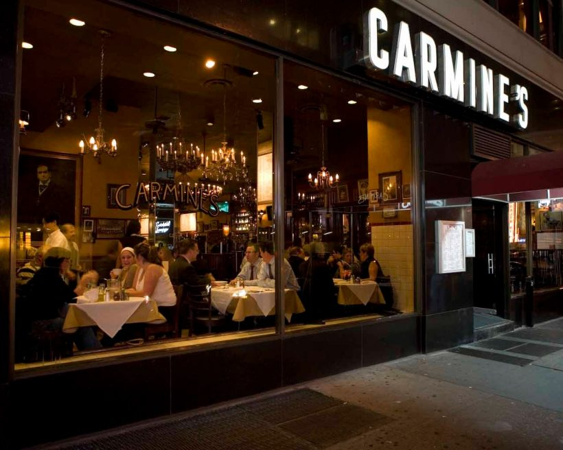 The Reopening of Carmine's and Broadway Signifies the Official Revival of Times Square